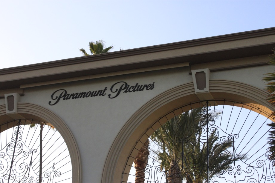 Entrance to Paramount Pictures