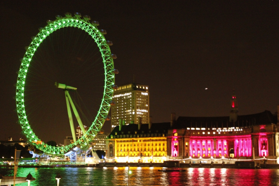 The London Eye, The Tate and the Thames