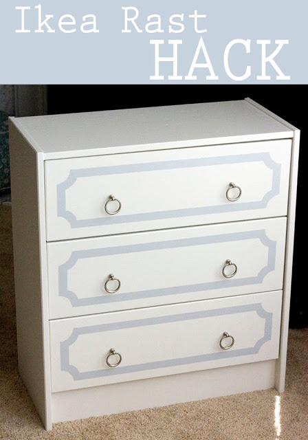 Rast Dresser With Silver Pulls