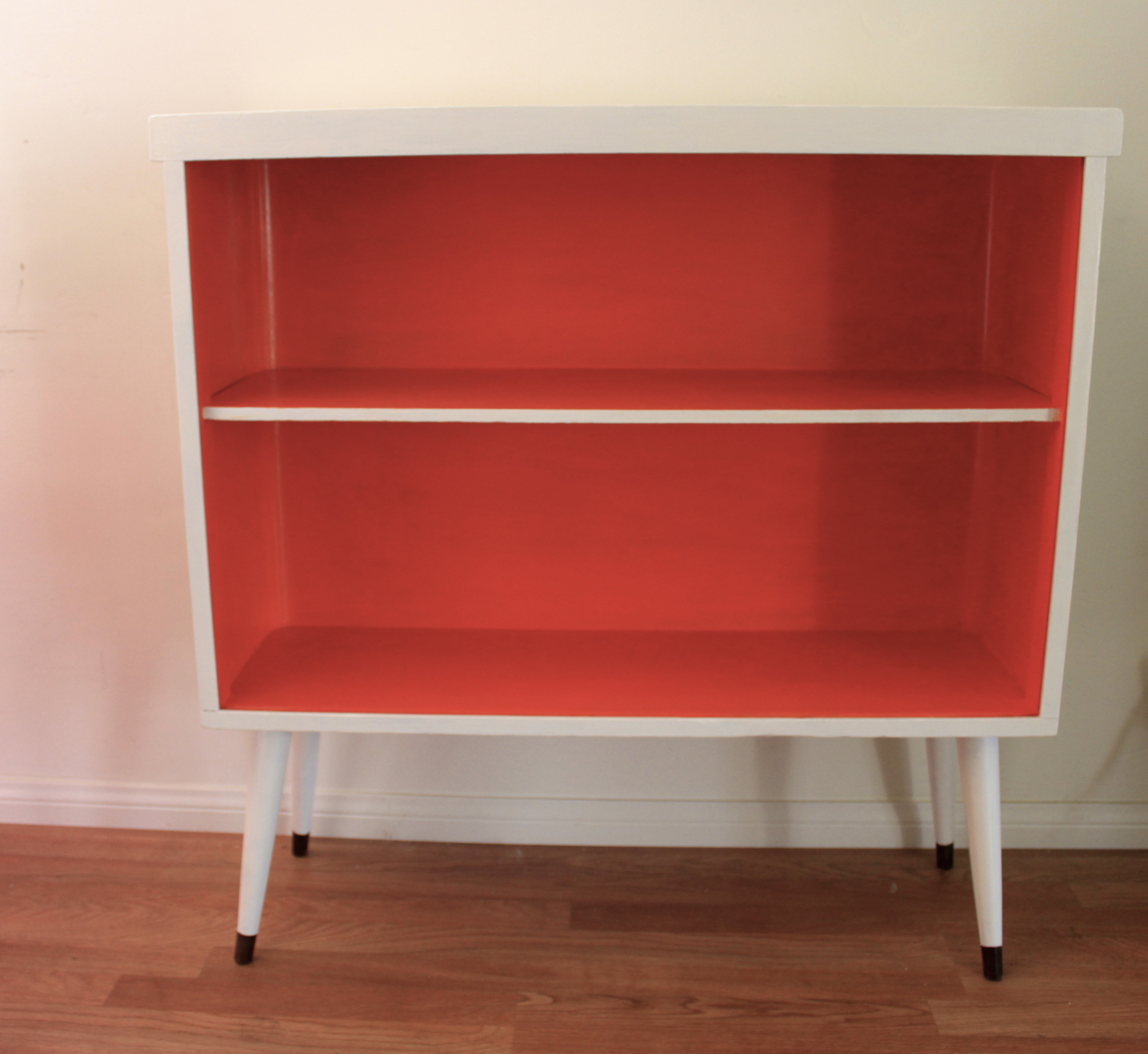 """Tang"""" Mid Century Modern Bookcase Make-Over 