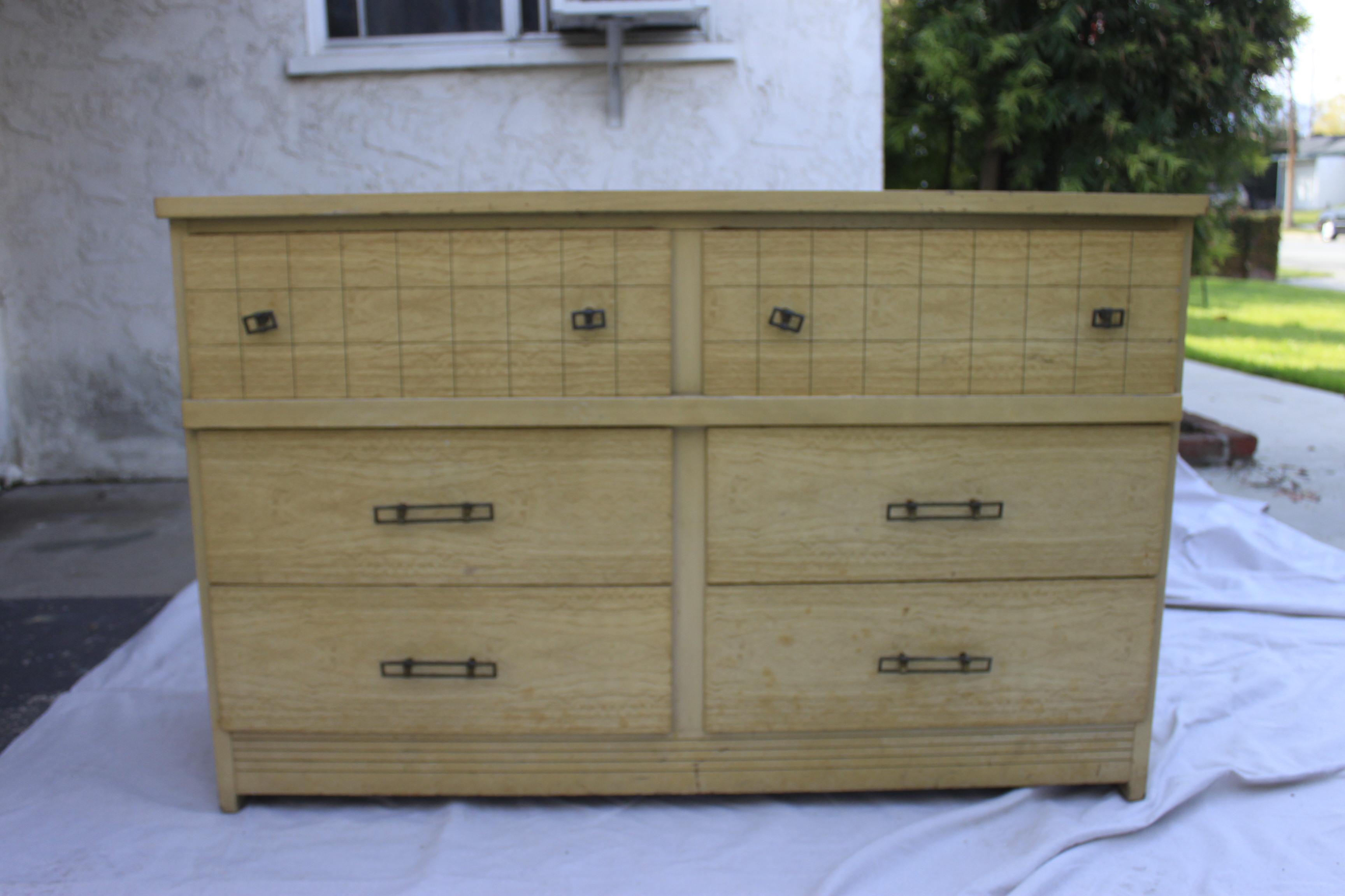 Mid-Century Modern Dresser Needs Help | Queen B Vintage Studios