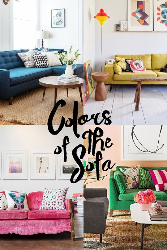 colors of the sofa